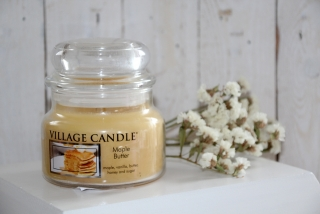 Vonná sviečka Village Candle, Maple Butter, 11oz